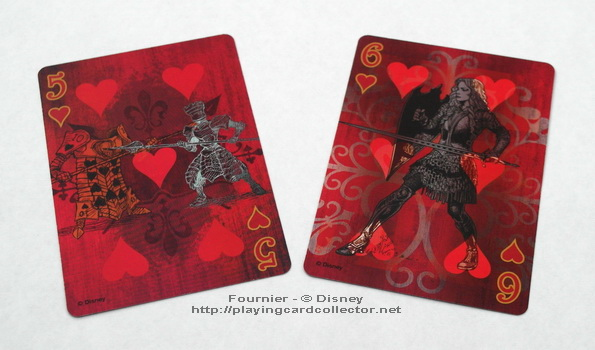 Fournier-Alice-in-Wonderland-Playing-Cards-Hearts-5-6
