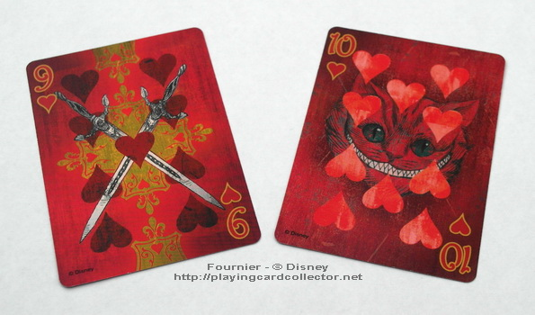 Fournier-Alice-in-Wonderland-Playing-Cards-Hearts-9-10