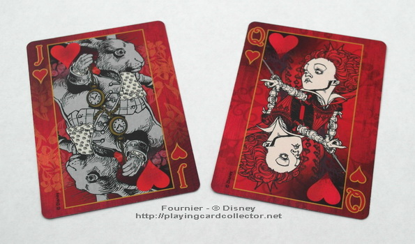 Fournier-Alice-in-Wonderland-Playing-Cards-Hearts-Jack-Queen