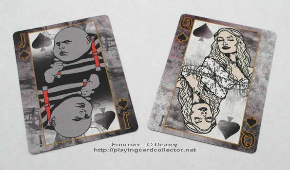 Fournier-Alice-in-Wonderland-Playing-Cards-Spades-Jack-Queen