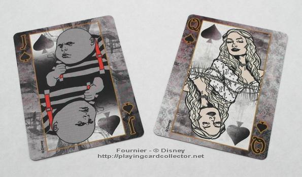 Fournier-Alice-in-Wonderland-Playing-Cards-Spades-Jack-Queen