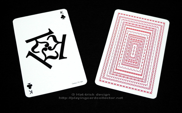 Hat-Trick_Typographic_Playing_Cards_King_of_Clubs