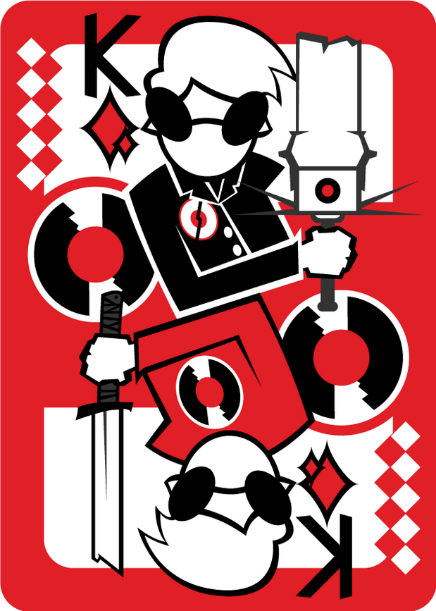 Homestuck-Playing-Cards-by-TeganNobody-King-of-Diamonds