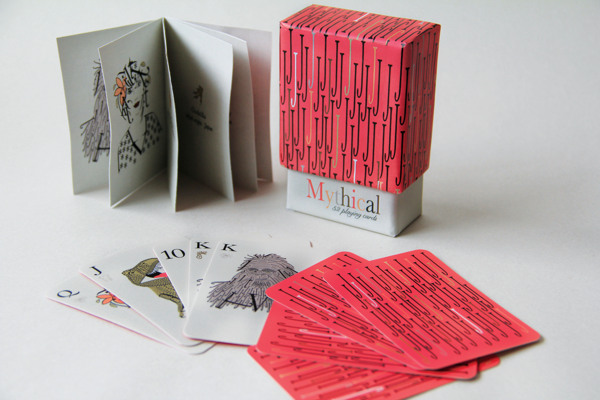 Mythical_Typographic_Playing_Cards_by_Megan_Pittam