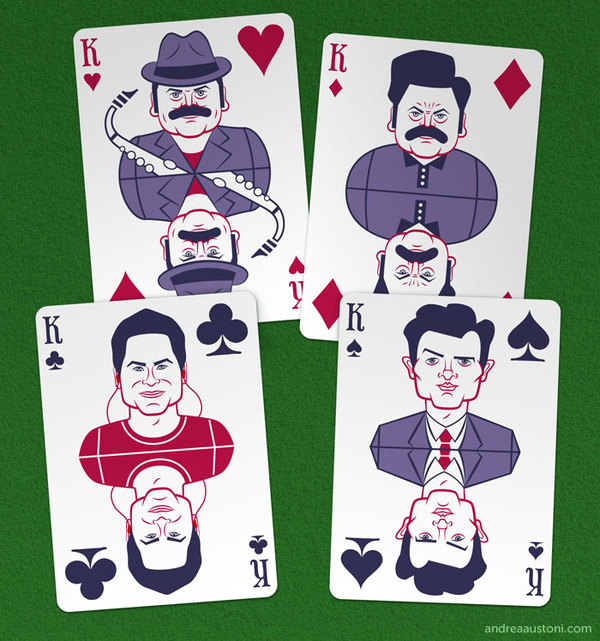 Parks_and_Recreation_Playing_Cards_by_Andrea_Austoni_kings
