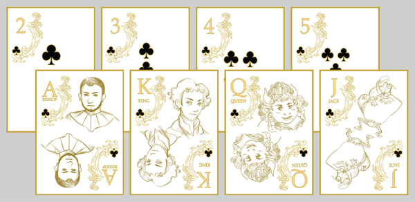 Platoon_Playing_Cards_by_Laura_LoForese_Clubs
