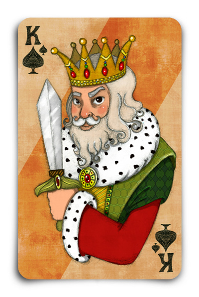 Playing-Cards-by-Gokce-Gurellier-King-of-Spades