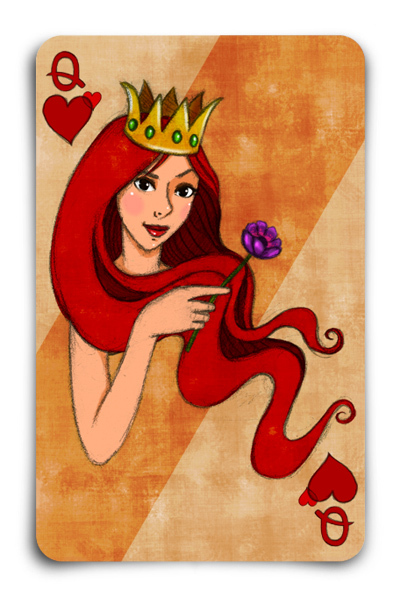 Playing-Cards-by-Gokce-Gurellier-Queen-of-Hearts