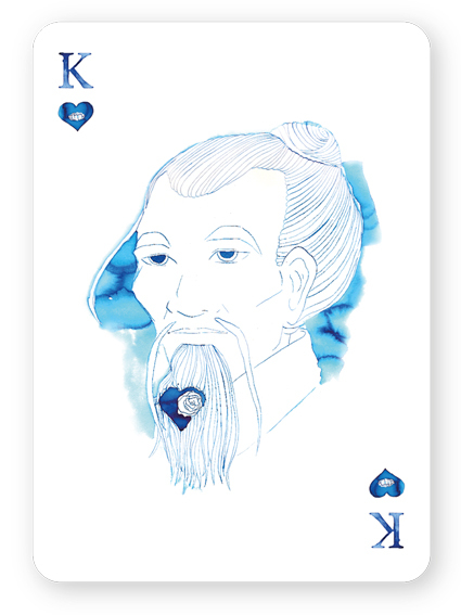 Watercolor_Playing_Cards_by_Cansu_Cengiz_King_of_Hearts
