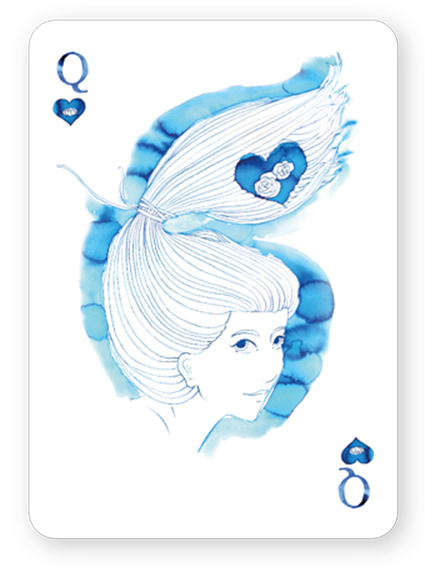 Watercolor_Playing_Cards_by_Cansu_Cengiz_Queen_of_Hearts