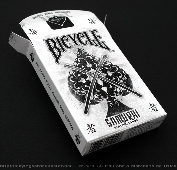 These Productions Are Designed For >> Bicycle Samurai Playing Cards by CC Éditions & Marchand de Trucs | PLAYING CARDS + ART = COLLECTING