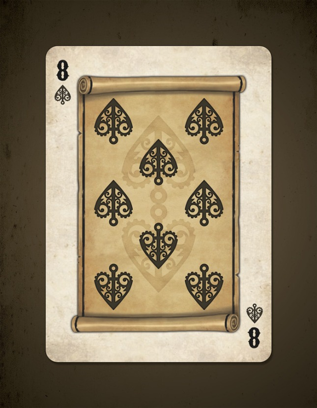 Bicycle_Steampunk_Pirates_Playing_Cards_Eight_of_Spades