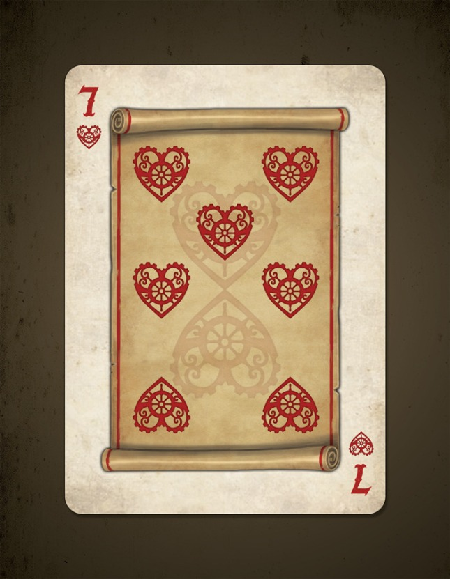 Bicycle_Steampunk_Pirates_Playing_Cards_Seven_of_Hearts