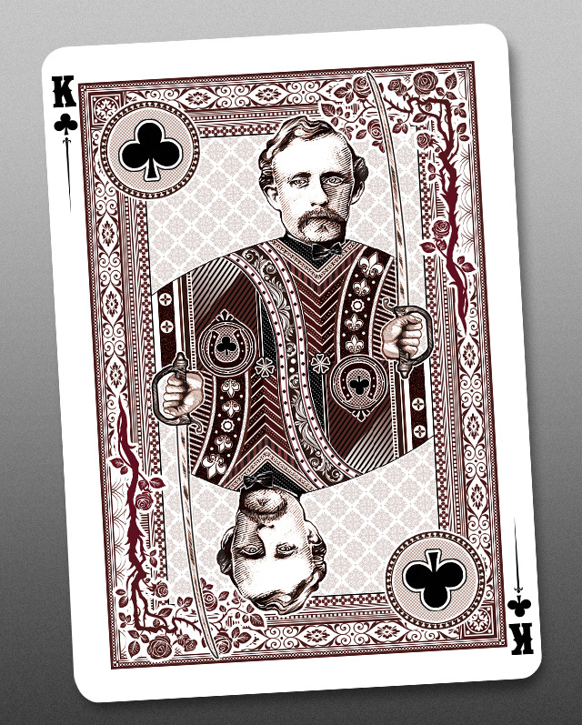 Bicycle_Wanted_Dead_or_Alive_Playing_Cards_King_of_Clubs_2