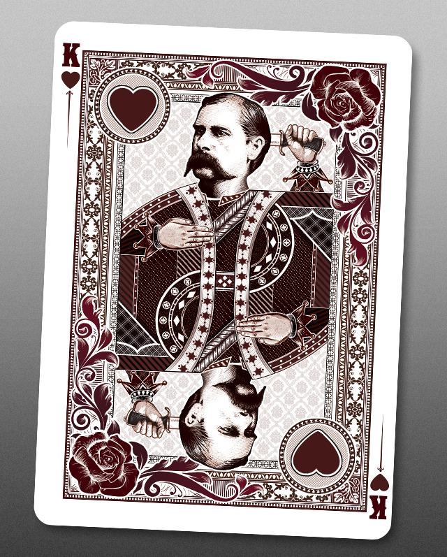 Bicycle_Wanted_Dead_or_Alive_Playing_Cards_King_of_Hearts_2