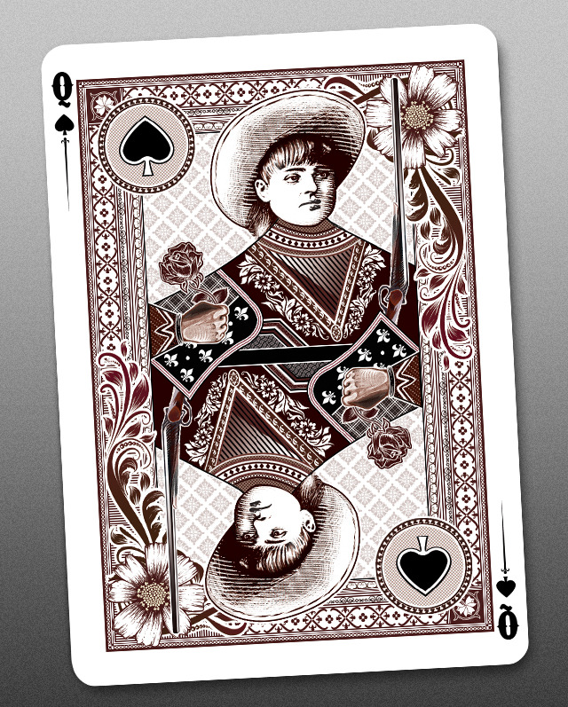 Bicycle_Wanted_Dead_or_Alive_Playing_Cards_Queen_of_Spades_2