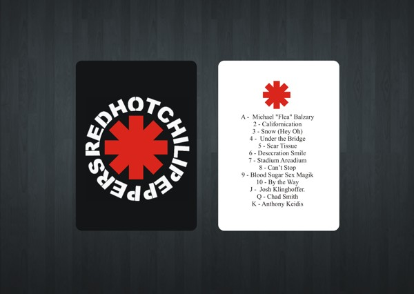 Red-Hot-Chili-Peppers-Playing-Cards-by-Gurleen-Kaur-Back