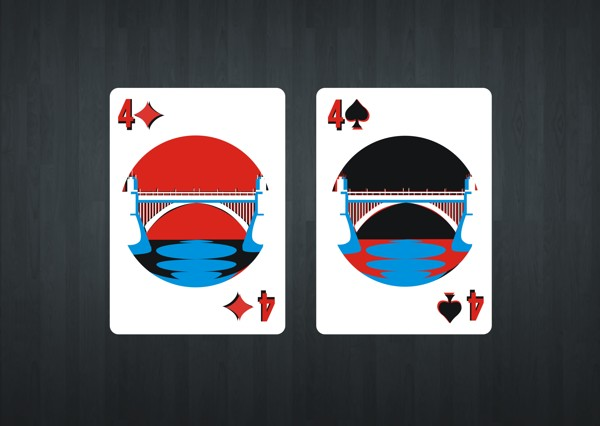 Red-Hot-Chili-Peppers-Playing-Cards-by-Gurleen-Kaur-Four