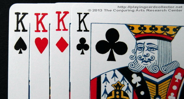 Erdnase-216-Bee-Squeezers-Playing-Cards-King-of-Clubs-Indices