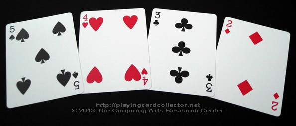 Erdnase-216-Bee-Squeezers-Playing-Cards-Number-Cards-2