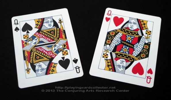 Erdnase-216-Bee-Squeezers-Playing-Cards-Queen-of-Hearts