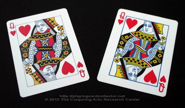 Erdnase-216-Bee-Squeezers-Playing-Cards-Queen-of-Hearts-comparison