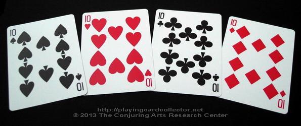 Erdnase-216-Bee-Squeezers-Playing-Cards-Tens