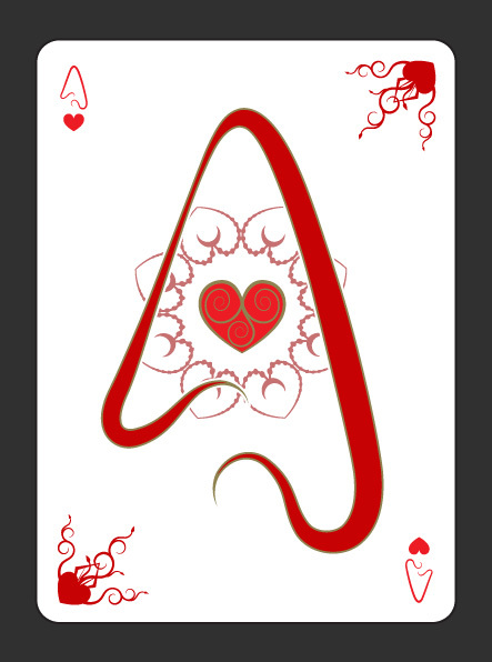 Gothic-Aces-by-Scott-Burdett-Ace-of-Hearts
