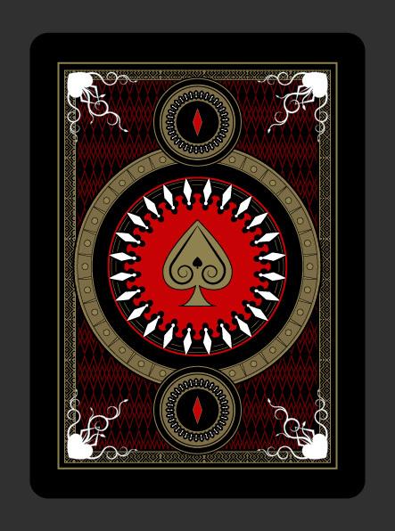 Gothic-Playing-Cards-by-Scott-Burdett-Back