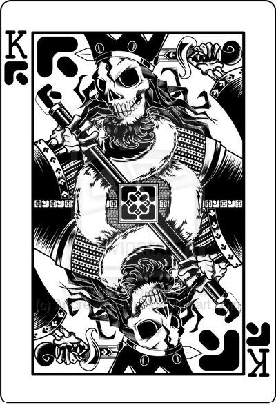 Deviantart King Of Spades Death By Andrew Strauss Playing Cards