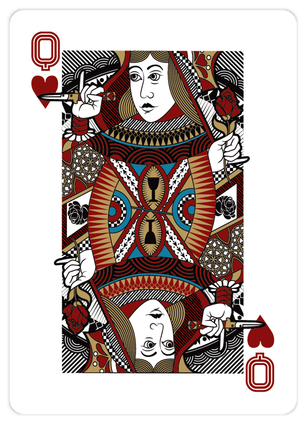 Playing_Cards_by_John_Powell_Queen_of_Hearts