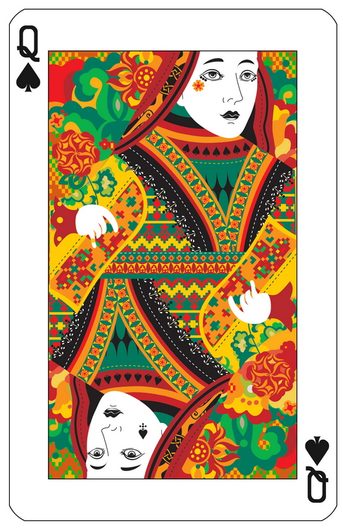 Bēhance: Playing Cards by Jing Zhang | PLAYING CARDS + ART ...