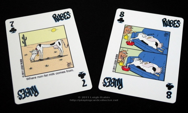 Rubes-Cartoon-Playing-Cards-Clubs-7-8