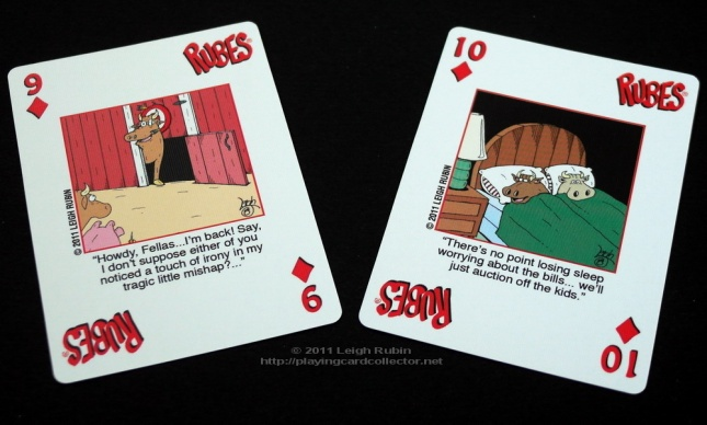 Rubes-Cartoon-Playing-Cards-Diamonds-9-10
