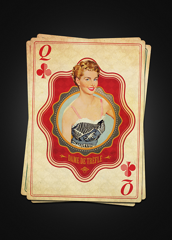 Vintage-French-Playing-Cards-by-Moustafa-Khamis-Queen-of-Clubs