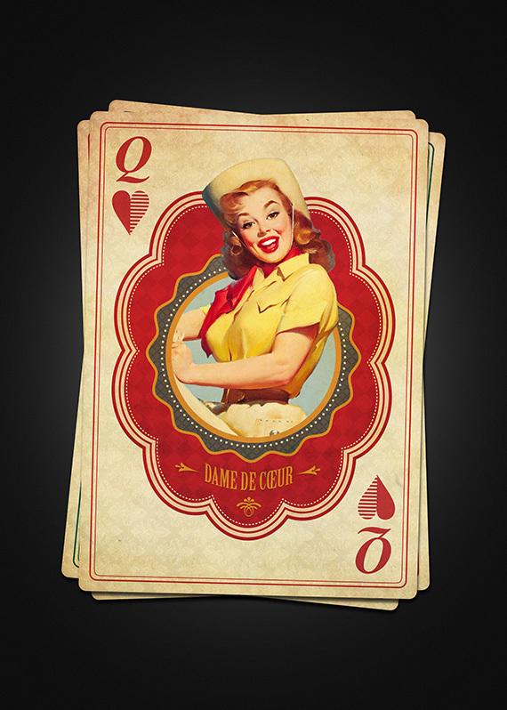 Vintage Queen Of Hearts 79