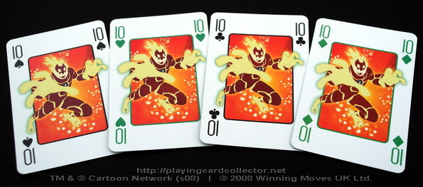 Waddingtons_Ben_10_Playing_Cards_Tens