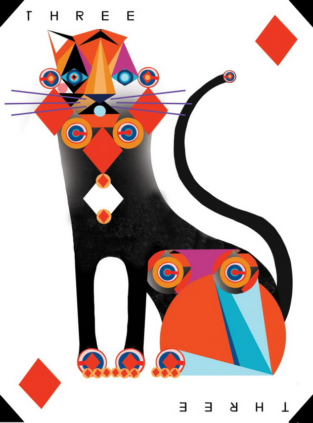 """Playing Card Art: """"An Ace in the Pack"""" Playing Cards by ..."""