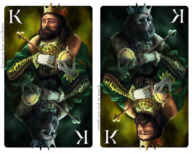 Cards_of_Life_and_Death_by_Kornel_Ravadits_King_of_Clubs