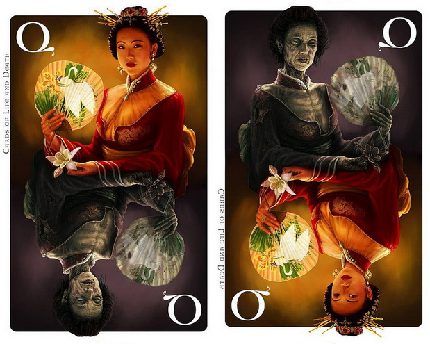 Cards_of_Life_and_Death_by_Kornel_Ravadits_Queen_of_Diamonds