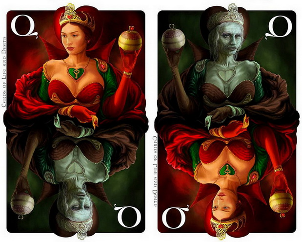 Cards_of_Life_and_Death_by_Kornel_Ravadits_Queen_of_Hearts