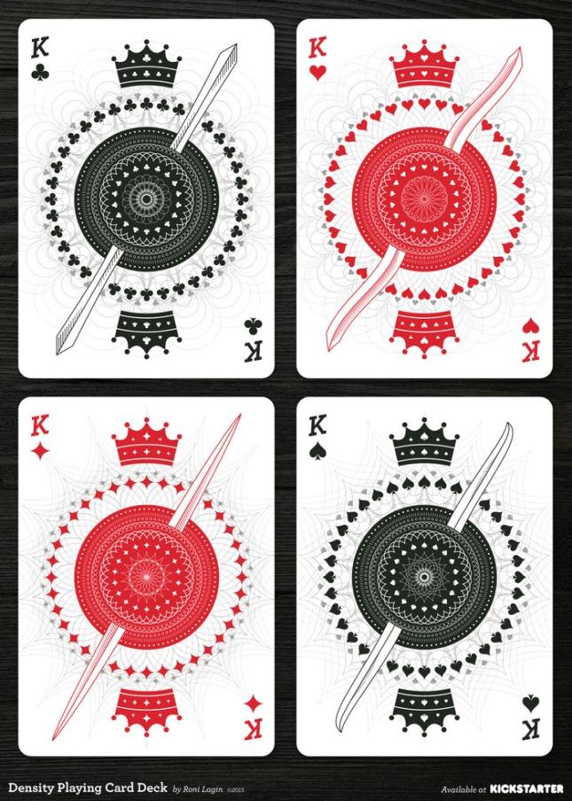 kickstarter  density playing cards by roni lagin
