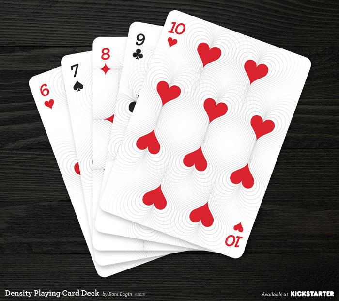 Kickstarter: Density Playing Cards by Roni Lagin | PLAYING