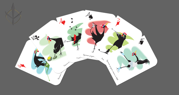 Olympic_Black_Chicken_Playing_Cards_by_Elektrofish_2