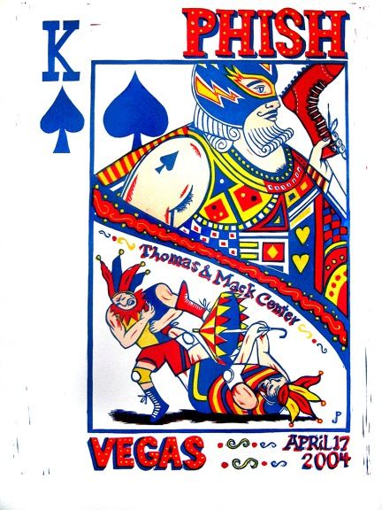 Phish_Vegas_Posters_King_of_Spades_by_Jim_Pollock