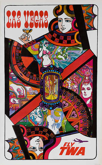 TWA_Original_Vintage_Las_Vegas_Travel_Poster_by_David_Klein