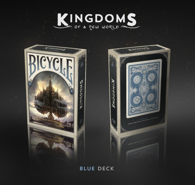 Bicycle_Kingdoms_of_a_New_World_Playing_Cards_Blue_Deck_box