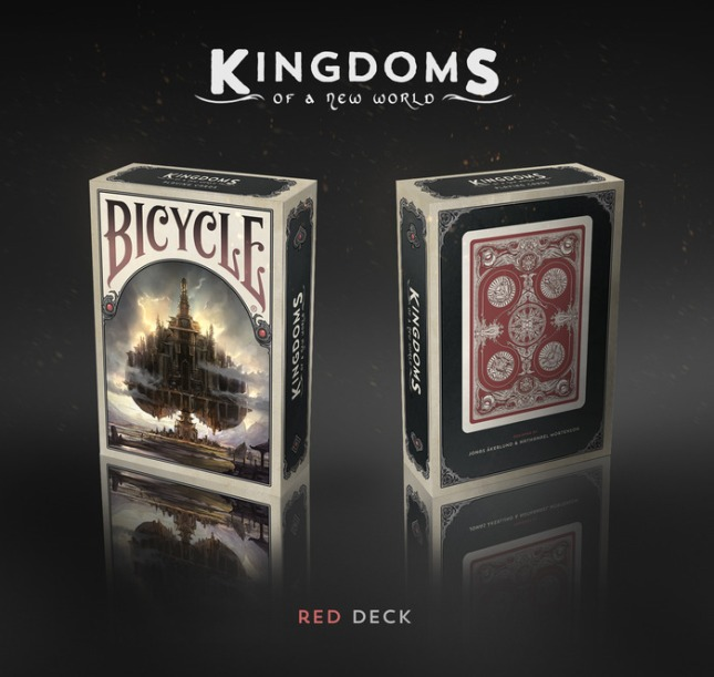 Bicycle_Kingdoms_of_a_New_World_Playing_Cards_Red_Deck_box