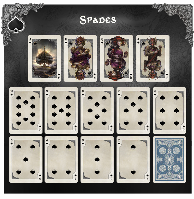 Bicycle_Kingdoms_of_a_New_World_Playing_Cards_Spades