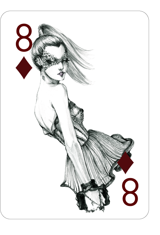 Decked_Out_Fashion_Playing_Cards_by_Connie_Lim_Eight_of_Diamonds
